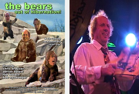 THE BEARS: OUT OF HIBERNATION! featuring Adrian Belew (Film Foetus, Inc.)