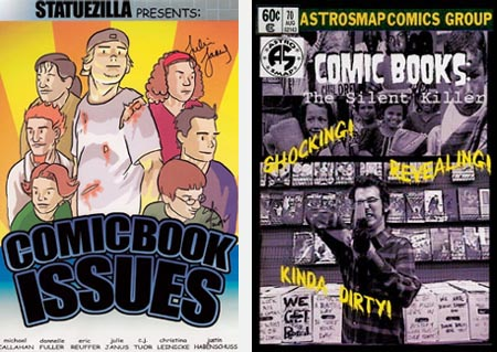 COMIC BOOK ISSUES (Statuezilla Productions) and COMIC BOOKS: THE SILENT KILLER (Astrosmap Productions International)