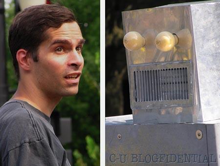 One Man. One RobotMan. Only one will survive!