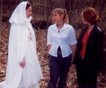 Brittany Ann Whalen, Michelle Chapman, and Morgan Thomas star in THE CURSE