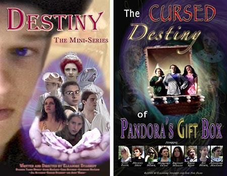 DESTINY THE MINI-SERIES and THE CURSED DESTINY OF PANDORA'S GIFT BOX