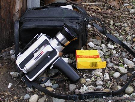 Honeywell Elmo Super 8 camera