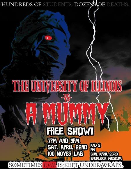 THE UNIVERSITY OF ILLINOIS VS. A MUMMY