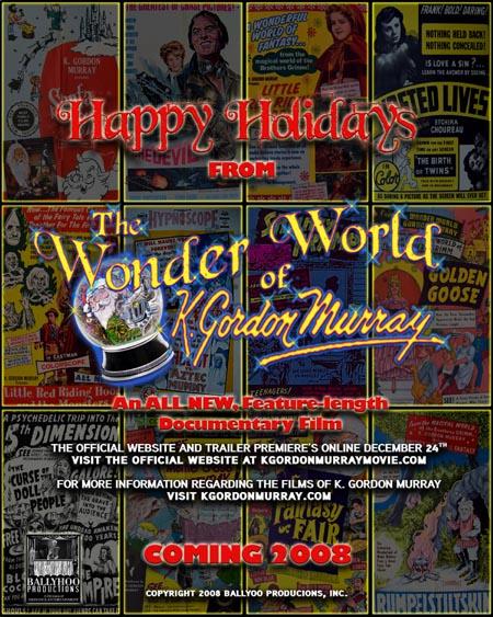 THE WONDER WORLD OF K. GORDON MURRAY